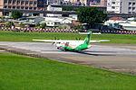UNI Air ATR 72-600 B-17015 Departing from Taipei Songshan Airport 20150908c.jpg