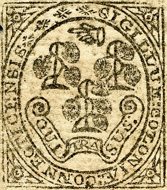 Armorial of the United States - Image: US Col CT Seal detail (1775)