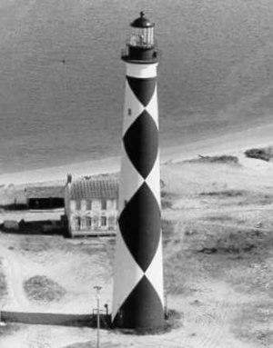 Cape Lookout Lighthouse - U.S. Coast Guard Archive