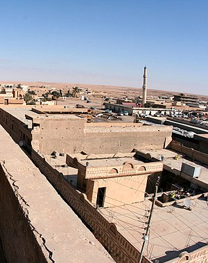 Ar-Rutbah - A rooftop view of Ar-Rutbah on 1 January 2009