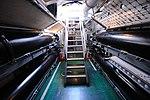 USS Bowfin - Exiting the Torpedo Room (8327599272).jpg