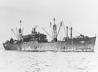 USS <i>Duplin</i> (AKA-87) US Navy attack cargo ship