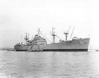 USS <i>Graffias</i> (AF-29) U.S. Navy war ship commissioned in 1944