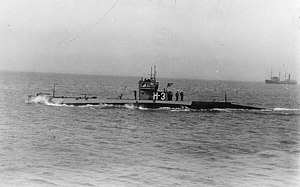 USS H-3 underway, circa 1922