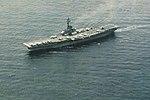 USS Hornet (CVS-12) underway off Korea in April 1969.jpg
