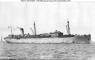 USS <i>Matsonia</i> (ID-1589)
