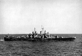 USS Oklahoma City (CL-91) - Oklahoma City during World War II.