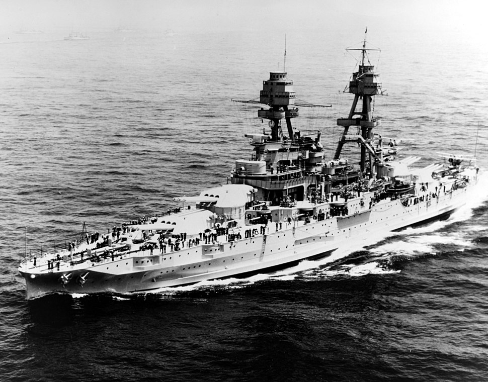 USS Pennsy BB-38 1934