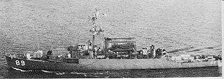 USS <i>Ruchamkin</i> (APD-89) 1945-1980 Crosley-class high-speed transport