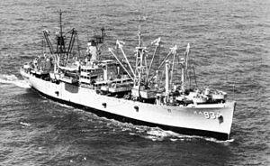 USS Yancey (AKA-93) - USS Yancey (AKA-93) in 1965