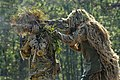 US Army soldiers in ghillie suits, Fort Benning, Georgia, USA - 20101014.jpg