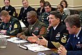 US Navy 050216-N-0962S-170 Master Chief Petty Officer of the Navy (MCPON) Terry Scott testifies before the House Appropriations Committee, subcommittee on Military Quality of Life and Veteran's Affairs.jpg