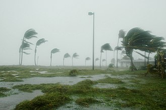 Effects of Hurricane Dennis in Florida - Conditions in Key West during the passage of Dennis