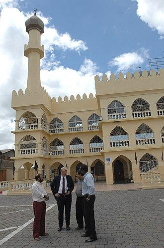 Islam in Madagascar - A mosque in Antananarivo.