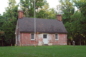 Naval Weapons Station Yorktown - US Navy 080801-N-3312P-001 File photo of Kiskiack (Lee House), the only original country house still standing on Naval Weapons Station Yorktown
