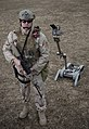 US Navy 090310-N-7090S-001 Explosive ordnance disposal technicians are using remote-controlled machines to help detect and defuse improvised explosive devices.jpg
