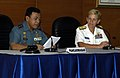 US Navy 090824-N-5060D-028 Rear Adm. Soeparno Djasmin, left, commander of Indonesian Navy Western Fleet Command and Rear Adm. Nora Tyson, commander of Task Force 73.jpg