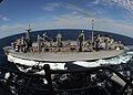 US Navy 100726-N-8689C-053 Crew members aboard the aircraft carrier USS George H.W. Bush (CVN 77) complete an underway replenishment.jpg
