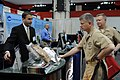 US Navy 110411-N-4930E-042 Master Chief Petty Officer of the Navy (MCPON) Rick D. West attends the 2011 Sea-Air-Space Exposition.jpg