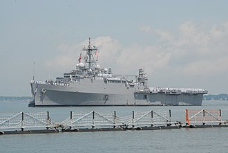 USS Ponce (LPD-15) - Ponce returns in May 2011 from her last major deployment as an LPD, during the Libyan civil war