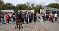 Uczestnicy uroczystości 5-lecia Pomnika Sprawiedliwych w Łodzi MZW DSC03771.jpg