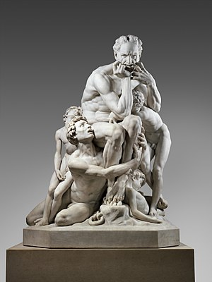 Ugolino and His Sons (Carpeaux) - Image: Ugolino and His Sons MET DP247545