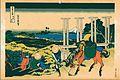 Ukiyoe calendar May 2010 hokusai -- takesu senjyu.jpg