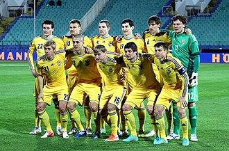 Ukrainische Fußballnationalmannschaft