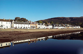 Wester Ross - Ullapool, founded as a fishing village in 1789.