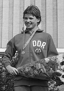 Ulrike Richter East German swimmer