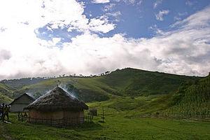 Itombwe Mountains - Babembe village on the Itombwe plateau