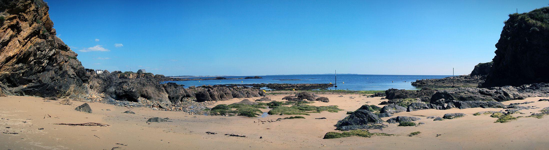 Vraiment très tranquille... L'île de Groix en vue...