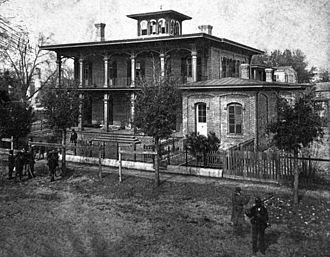 Battle of Olustee - Union General Truman Seymour's headquarters in Jacksonville, Florida.