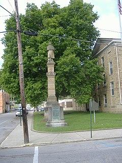 Union Monument in Vanceburg sculpture