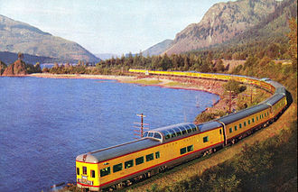 City of Portland (train) - Image: Union Pacific Railroad City of Portland streamliner