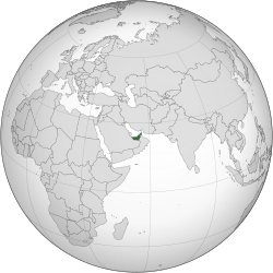 United Arab Emirates (orthographic projection).svg