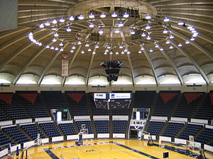 Virginia Cavaliers men's basketball - University Hall, UVA's home court from 1965 until 2006