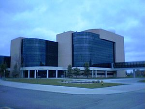 Red River Valley Research Corridor - Clifford Hall at UND