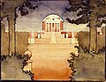 Untitled (Rotunda -University of Virginia), 1912-1914, Georgia O'Keeffe.jpg
