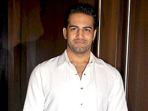Upen Patel at success party of Ajab Prem Ki Ghazab Kahani.jpg