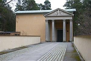 Skogskyrkogården - Uppståndelsekapellet (the Resurrection Chapel), designed by Sigurd Lewerentz