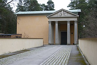 Skogskyrkogården - Uppståndelsekapellet (the Resurrection Chapel), designed by Sigurd Lewerentz