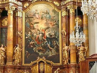 Martino Altomonte - Image: Ursulinenkirche Hochaltarbild