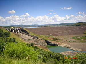 Itá Hydroelectric Power Plant - Itá Dam in 2007