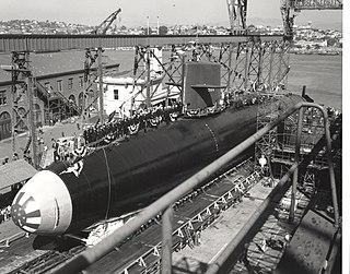 USS <i>Theodore Roosevelt</i> (SSBN-600) George Washington-class submarine