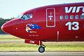 VH-VOM 'Little Blue Peep' Boeing 737-8FE Virgin Blue (Virgin Australia) (6601719341).jpg