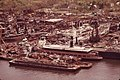 VIEW FROM CARTERET, NJ, ACROSS THE ARTHUR KILL TO STATEN ISLAND SCRAPYARD AND SHIP GRAVEYARD - NARA - 551997.jpg