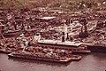 VIEW FROM CARTERET, NJ, ACROSS THE ARTHUR KILL TO STATEN ISLAND SCRAPYARD AND SHIP GRAVEYARD - NARA - 551997.jpg