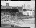 VIEW OF EAST FRONT AND SHED (1993) - M-K-T Freight Terminal, 1811 Ruiz Street, Houston, Harris County, TX HABS TEX,101-HOUT,6-6.tif