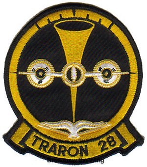 VT-28 - Patch of VT-28 as an Advanced Multi-engine Training Squadron